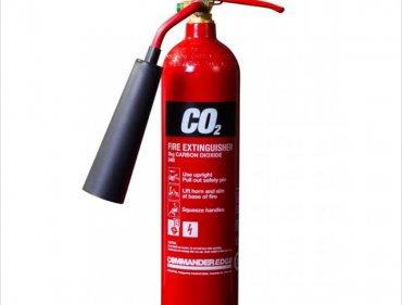 Karbondioksit Yangın Söndürme Tüpleri