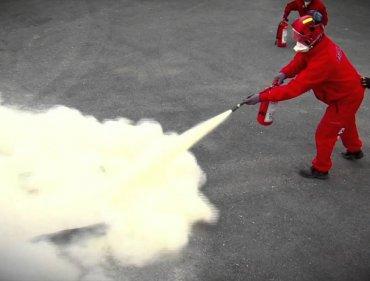 Kuru Kimyevi Tozlu Yangın Söndürme Tüpleri